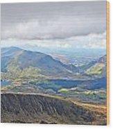 Snowdonian Thunderstorm Wood Print