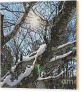Snowglow Wood Print