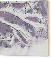 Snowtract Wood Print