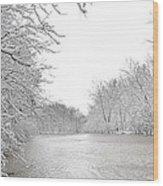 Snowy River Wood Print