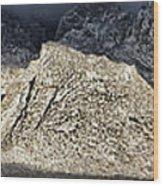 Snowy Sandia Mountain Range Huge Panorama 1150 Wood Print