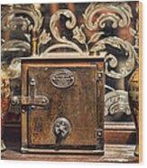 Snuff Jars Wood Print