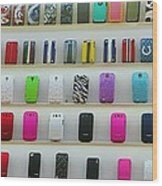 So Many Iphone Cases Wood Print