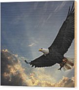 Soar To New Heights Wood Print