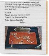 Soaring Dorjis Wood Print by Dan A  Barker