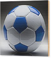 Soccer Ball Wood Print