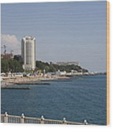 Sochi Bathing Resort At The Black Sea Wood Print