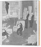 Social Menaces  The First-edition Fiend Wood Print