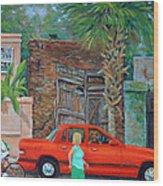 Society Street Afternoon Wood Print