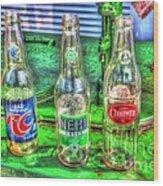 Soda Pop Wood Print