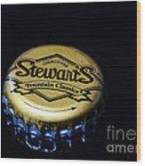 Soda - Stewarts Root Beer Wood Print by Paul Ward