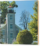 Sodus Pt Light House Wood Print