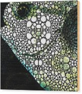 Sofishticated - Fish Art By Sharon Cummings Wood Print