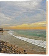 Soft Colors On The Coast Wood Print by Lynn Bauer