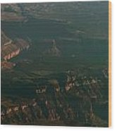 Soft Early Morning Light Over The Grand Canyon 2 Wood Print