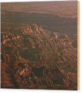 Soft Early Morning Light Over The Grand Canyon 3 Wood Print