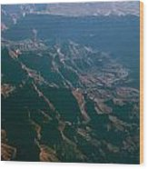 Soft Early Morning Light Over The Grand Canyon 4 Wood Print
