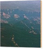 Soft Early Morning Light Over The Grand Canyon 5 Wood Print