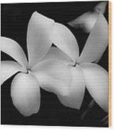 Soft Floral Beauty Wood Print