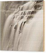 Soft Flow Wood Print