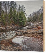 Soft Maple Water Fall Wood Print