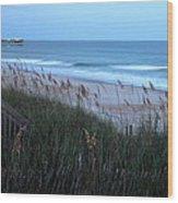 Soft Ocean Wood Print