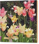 Soft Spring Colors Wood Print