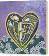 Softened Heart Best Reflections Energy Collection Wood Print