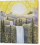 Solar Plexus Chakra Wood Print