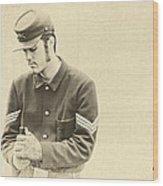 Soldier Wood Print