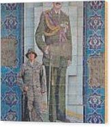 Soldier To Sedam Wood Print by Sharla Fossen