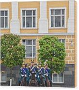 Soldiers Of The Presidential Regimental Wood Print