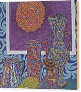 Soleil De Puteaux  Wood Print