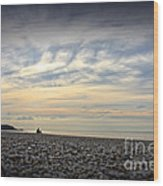 Solice On The Beach Wood Print