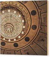 Solis Theater Ceiling Wood Print
