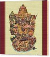 Solitaire Vinayak Wood Print