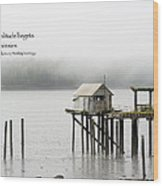 Solitude Begets Whimsies Wood Print