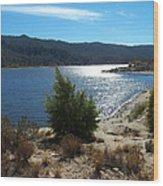 Solitude - Lake Hemet Wood Print