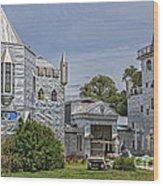 Solomon's Castle Ona Florida Wood Print