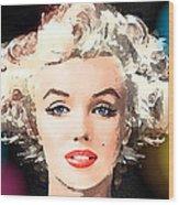Marilyn - Some Like It Hot Wood Print