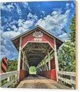 Somerset Pa Glessner Bridge Wood Print