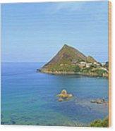 Algeria- Djidjelli Coast Wood Print