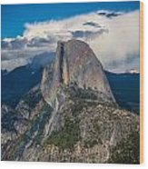 Somewhere Over Half Dome Wood Print