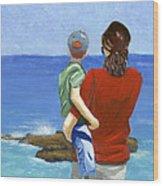 Son Of A Sailor Wood Print by Karyn Robinson