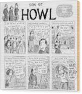 Son Of Howl Wood Print