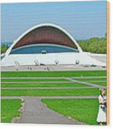 Song Festival Amphitheatre In Tallinn-estonia Wood Print