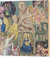 Song Of Angels II Wood Print