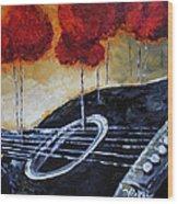 Song Of Seasons II Wood Print by Vickie Warner