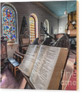 Song Of Solomon Wood Print by Adrian Evans