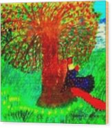 Song Of Songs 1 Wood Print by Maryann  DAmico